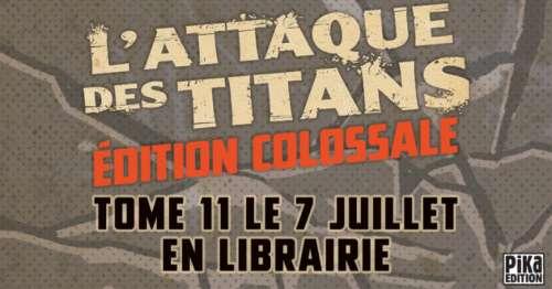 Des nouvelles de l'édition colossale de L'Attaque des Titans