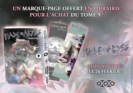 Ototo vous offre des marque-pages Made in Abyss