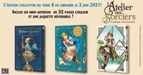 Un édition collector pour le tome 8 de L'Atelier des Sorciers