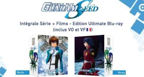 La série animée Mobile Suit Gundam SEED arrive en Blu-ray chez @Anime