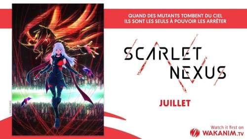 Scarlet Nexus: une date pour le jeu, et un anime annoncé par Wakanim