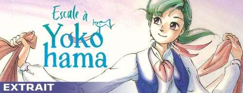 Découvrez un extrait du manga Escale à Yokohama