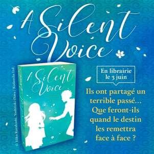 Lumen annonce le roman A Silent Voice