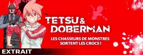 Découvrez un extrait du manga Tetsu & Doberman