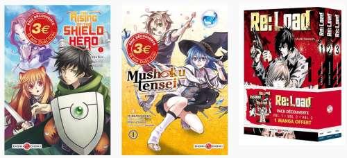 Des mangas à petit prix chez Doki-Doki en avril
