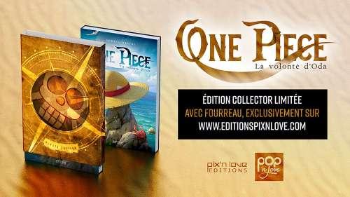 One Piece - La volonté d'Oda, un livre sur One Piece chez Pix'n Love