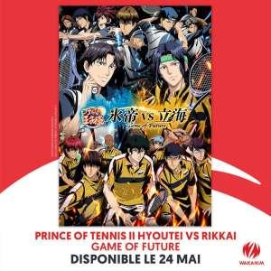 The Prince of Tennis - Hyotei vs Rikkai - Game of futur, annoncé par Wakanim