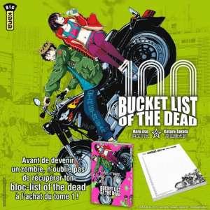 Kana vous offre un bloc-list Bucket list of the dead