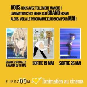 De nouvelles dates de sortie pour les films d'animation distribués par Eurozoom