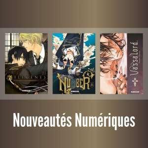 Les mangas Ilegenes, Number et Vassalord arrivent en numérique
