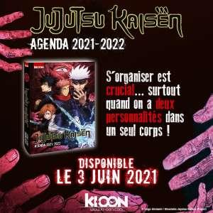 Jujutsu Kaisen aura aussi son agenda chez Ki-oon