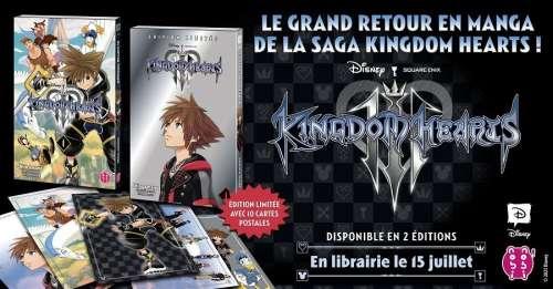 Kingdom Hearts III arrive en manga chez nobi nobi!