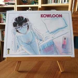 Un extrait, un trailer et un ex libris pour Kowloon Generic Romance