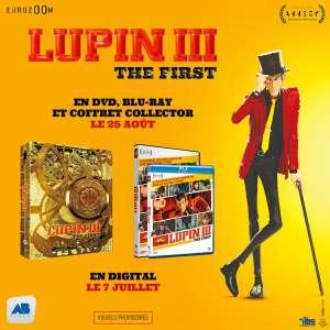 Le film Lupin III The First bientôt en DVD & Blu-ray