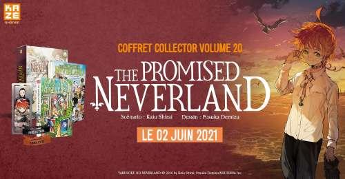 Un coffret collector pour le dernier tome de The Promised Neverland