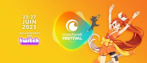 Le Crunchyroll Festival, événement en ligne prévu pour la fin juin