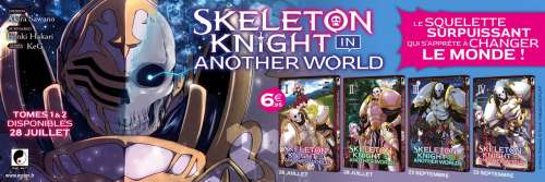 Le manga Skeleton Knight in Another World annoncé par Meian