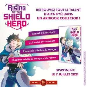 The Rising of the Shield Hero se décline en artbook chez Doki-Doki