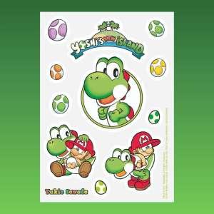 Soleil offre des stickers de Yoshi's New Island