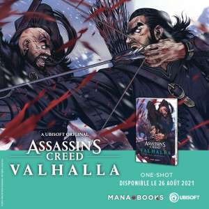 Assassin's Creed - Valhalla en manga chez Mana Books