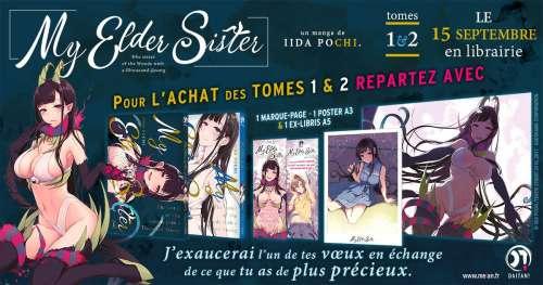 Le manga My Elder Sister annoncé par Meian