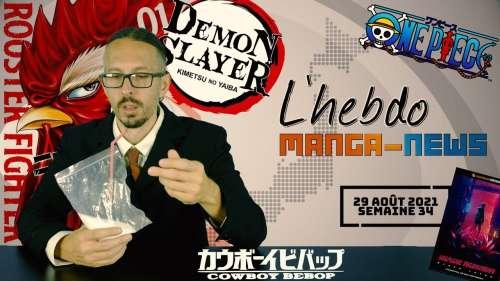 L'hebdo Manga-News, nouvelle émission d'actualité présentée par La Bande Animée