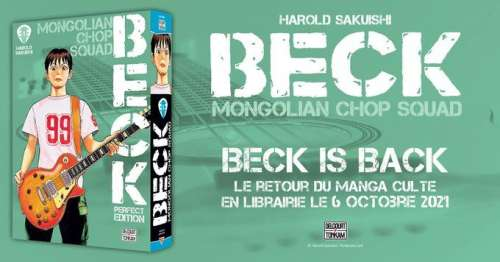 Beck is back chez Delcourt/Tonkam
