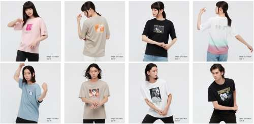 Des t-shirts Demon Slayer chez Uniqlo