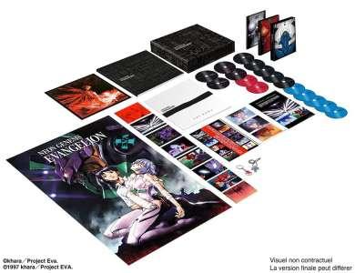 Evangelion arrive en coffret collector Blu-ray/DVD chez Dybex, et ses films sortiront au cinéma