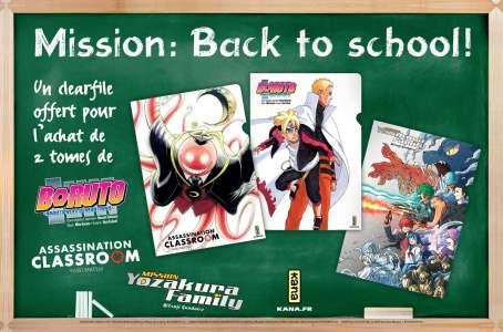 Opération Back to school chez Kana