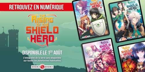 Le manga The Rising of the Shield Hero est désormais disponible en numérique
