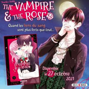 The Vampire and the Rose nouveau shojo chez Soleil