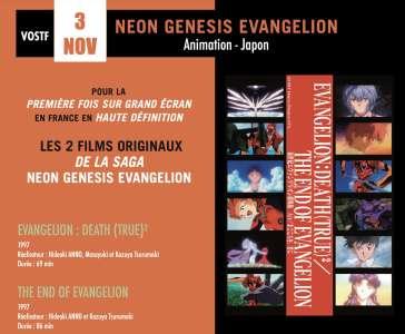Les films Evangelion Death (True)² et The End Evangelion bientôt au cinéma