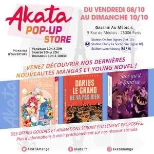 Retour du pop-up store Akata ce week-end, à Paris