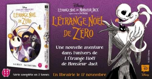 Le suite de L'étrange Noël de Monsieur Jack arrive en manga chez nobi nobi!