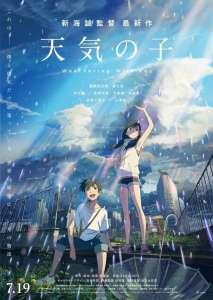 Le film Weathering With You de Makoto Shinkai, en avant-première aux Utopiales de Nantes demain
