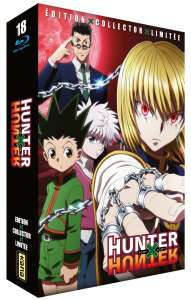Hunter x Hunter en intégrale collector Blu-ray chez Kana