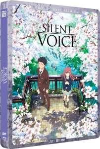 Les films A Silent Voice et Le Château de Cagliostro en steelbook chez Kazé