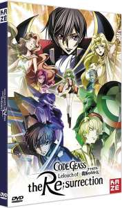 Une date pour la sortie en DVD & Blu-ray de Code Geass – Lelouch of the Re;surrection