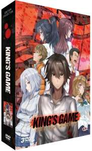 L'anime King's Game en Blu-ray et DVD chez Dybex