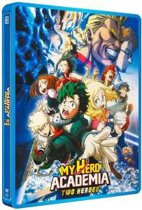 Une édition steelbook pour My Hero Academia: Two Heroes