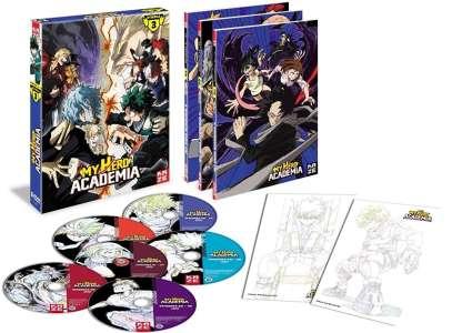 La saison 3 de My Hero Academia se dévoile en DVD et Blu-Ray chez Kazé !