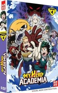 La saison 4 de My Hero Academia en DVD & Blu-ray chez Kazé