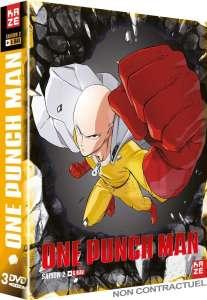 La saison 2 de One Punch Man arrive en DVD & Blu-ray chez Kazé