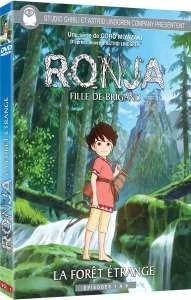 Les futures éditions DVD & Blu-ray de Ronja, fille de brigand se dévoilent