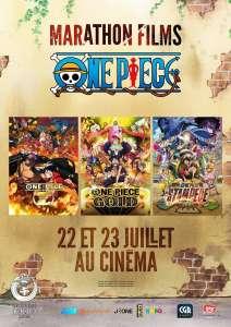 Un marathon des films One Piece dans les cinémas CGR ce mois-ci