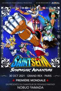 Nouvelles dates confirmées pour le concert Saint Seiya Symphonic Adventure