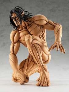 Une figurine de L'Attaque des Titans dans la gamme Pop Up Parade