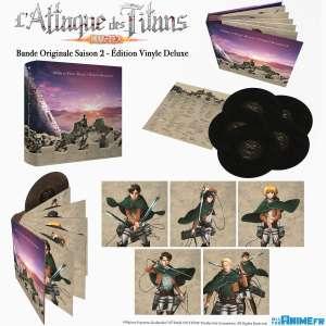La bande-originale de la saison 2 de L'Attaque des Titans débarque en vinyle chez All the Anime