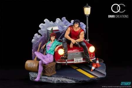 Oniri Créations dévoile sa statuette de luxe de City Hunter
